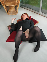 Sexy TGirl Lucimay loves her little black outfits and always gets so horny when she wears them.